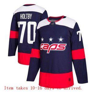 Washington Capitals #70 Braden Holtby Jersey